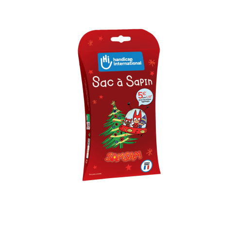 Sac à sapin Handicap International biodégradable - Version 2019