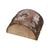 Bûche/Pied de sapin de Noël en bois