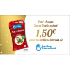 Sac à sapin de Noël biodégradable HANDICAP INTERNATIONAL - 25 ans