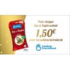 Sac à sapin de Noël biodégradable HANDICAP INTERNATIONAL - 25 ans